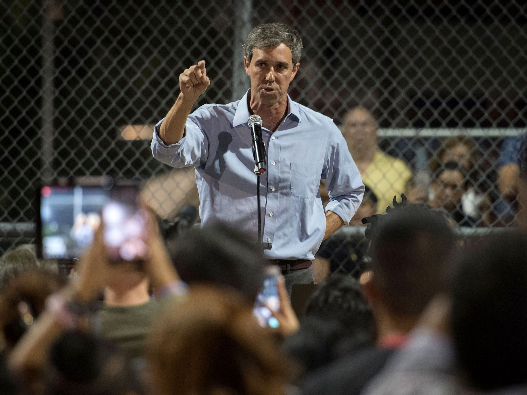 Beto O'Rourke Just Produced an Emotional, Scything Critique of the Media