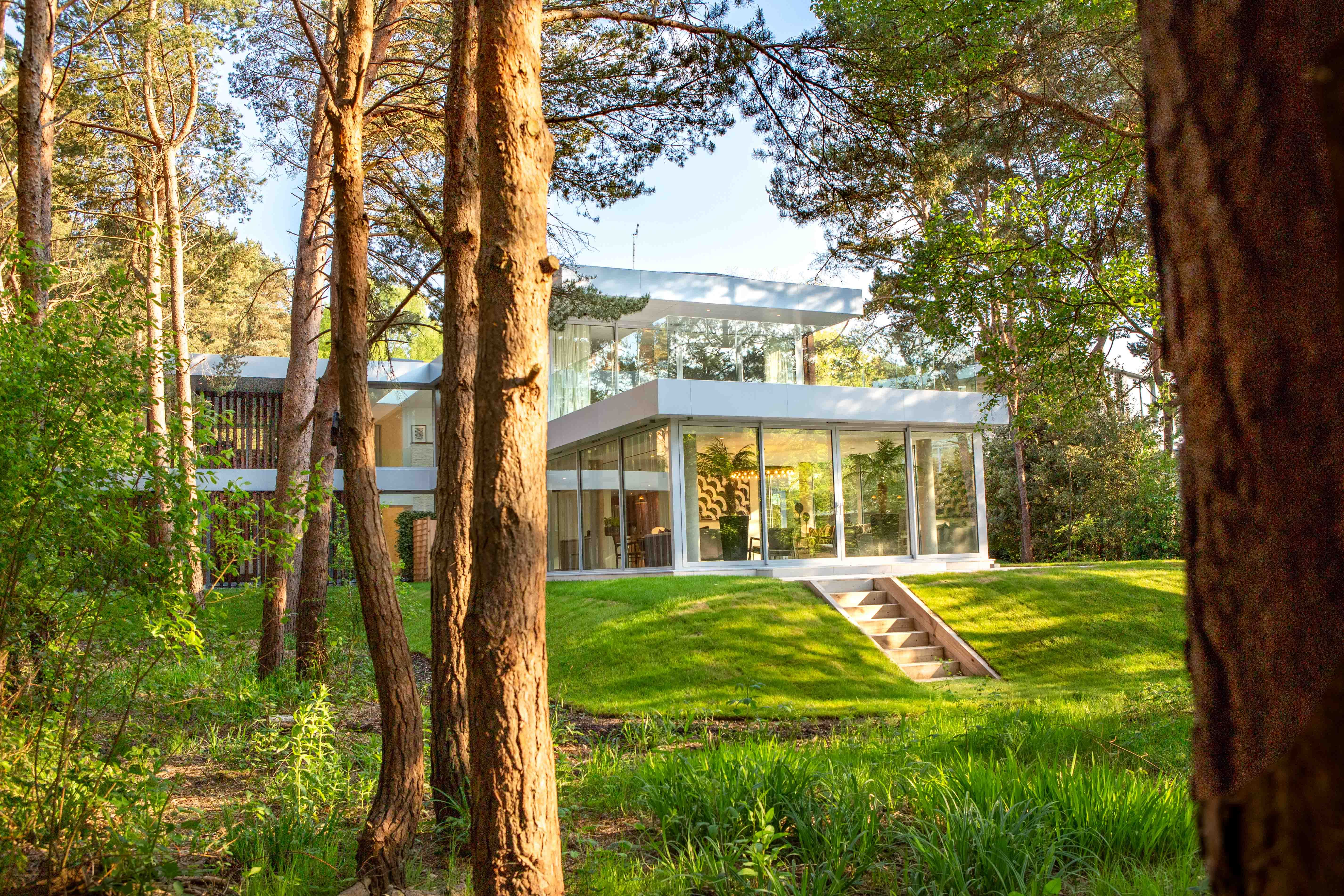 Breathtaking architecture meets exceptional interior design at this countryside home for sale in Dorset
