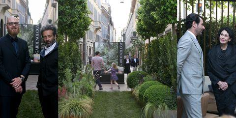 Shrub, Grass, Tree, Plant, Event, Courtyard, Garden, Ceremony, Street, Building,
