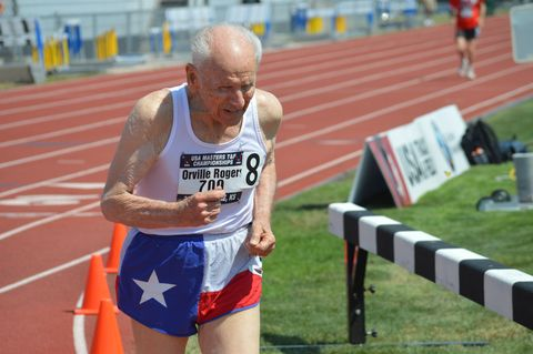 A 95-Year-Old Record Setter's Rules to Run By