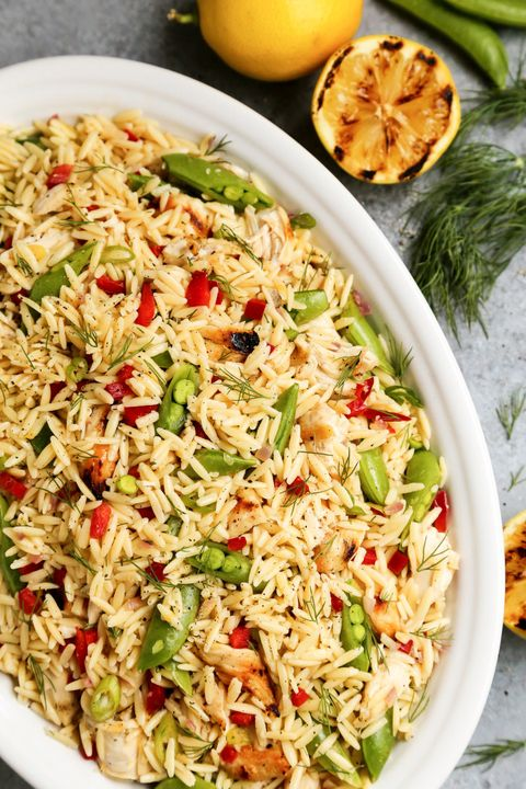 orzo recipes grilled chicken lemon orzo salad