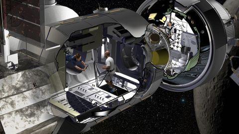 Lockheed Martin Unveils Spacecraft Rv For Human Trips To Mars