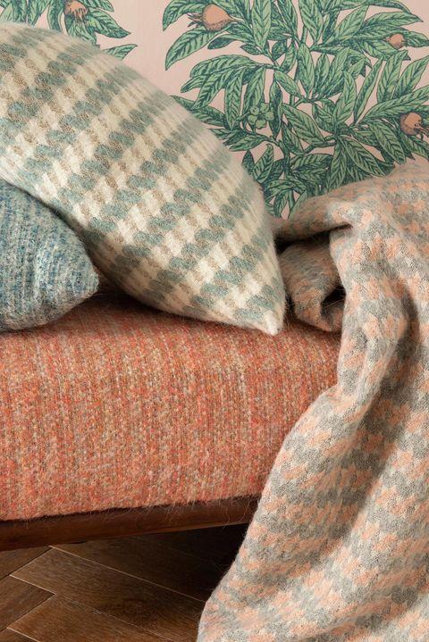 tapicerías de lana de otoño invierno