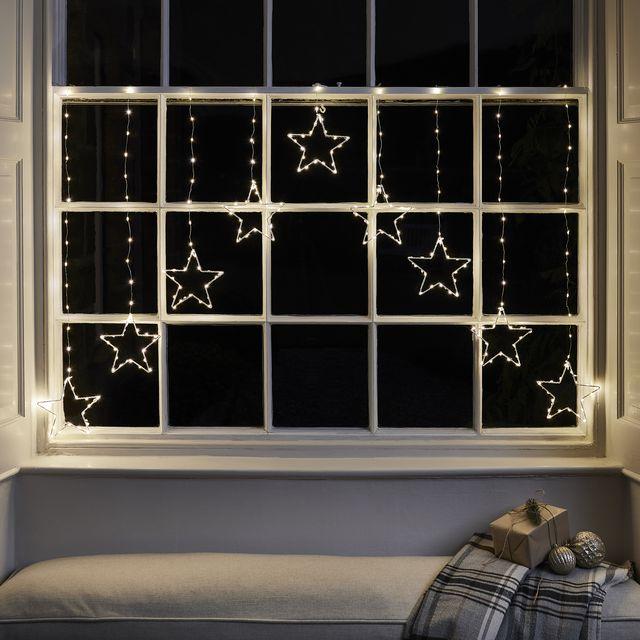 osby star christmas window light