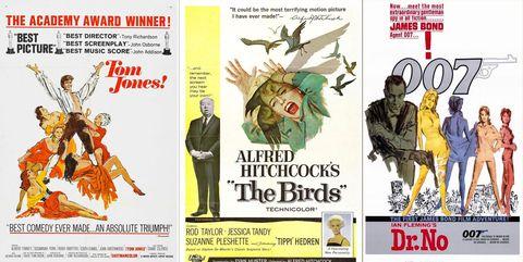 posters Tom jones los pajaros 007 contra doctor No