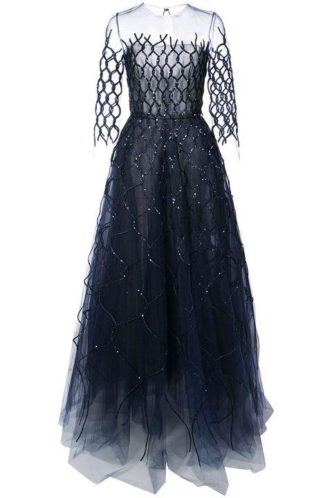Oscar de la Renta ball gown