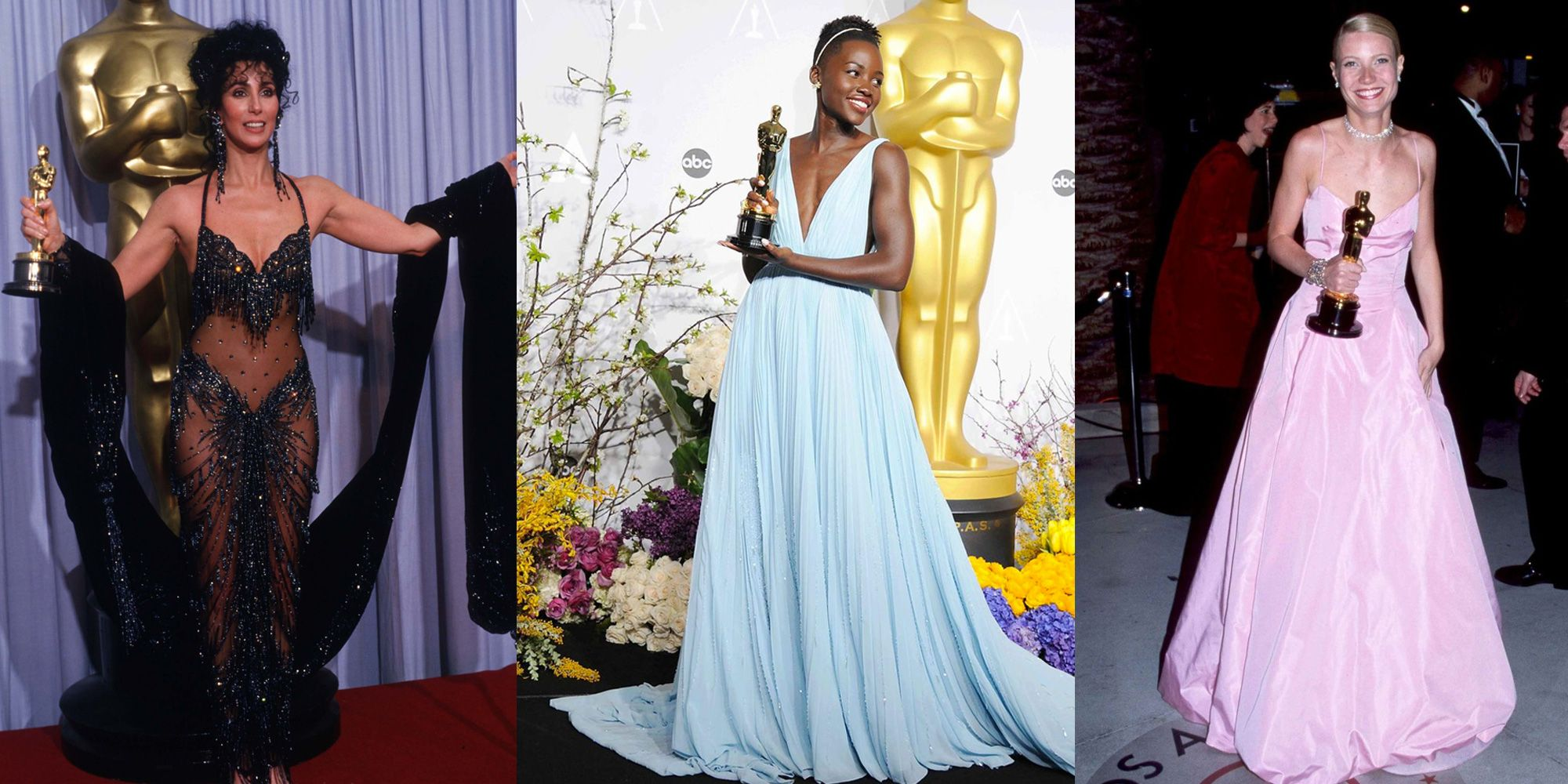 From timeless Hollywood glamour to over-the-top headline grabbers, our favorite Oscar moments almost always happen on the red carpet. On Sunday, February 24, we'll see who takes home the gold statues at the 91th Oscar ceremony, but which gown will top our style list this year?