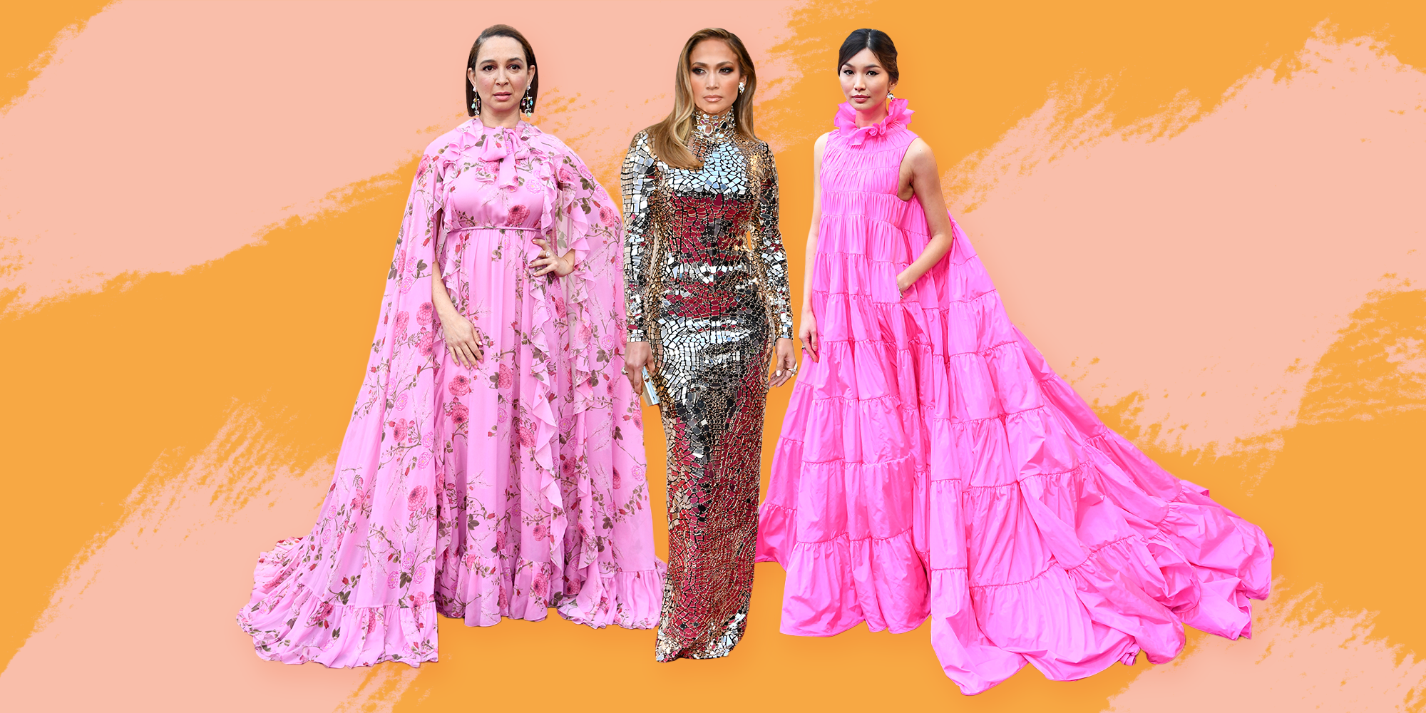 Were These Oscars Looks Inspired By Loofahs, Paper Lanterns, And Other Home Decor?