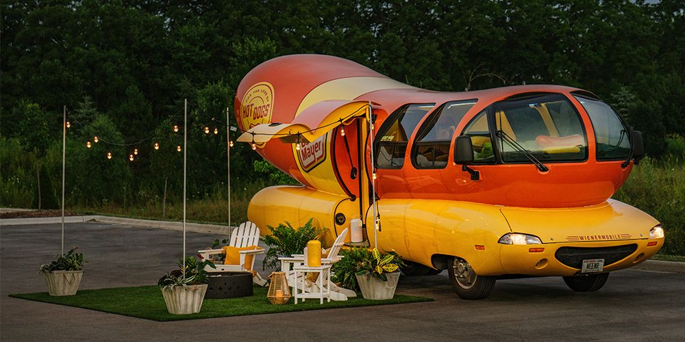 You Can Stay In The Oscar Mayer Weinermobile On Airbnb For