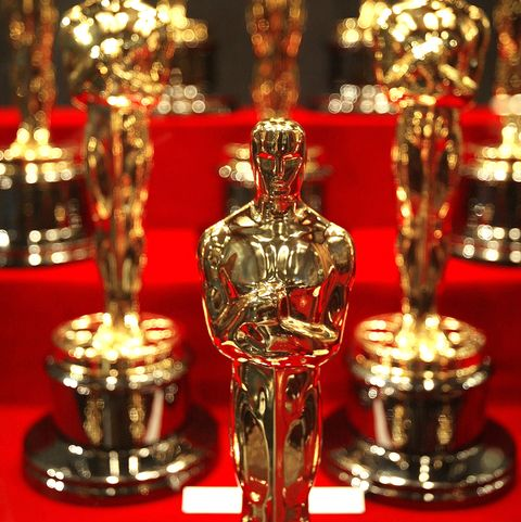 Oscar? Statuettes On Display At Chicago Museum Of Science & Industry