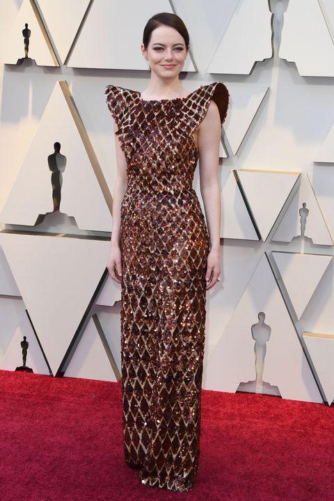901fee8b796 Emma Stone s Oscars 2019 dress took 712 hours to make