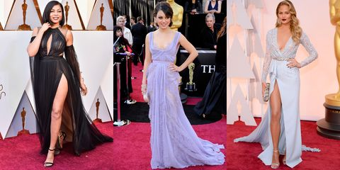 9a6056e44804 Sexiest Oscars Dresses - Sexy Dresses Worn at the Academy Awards Red ...
