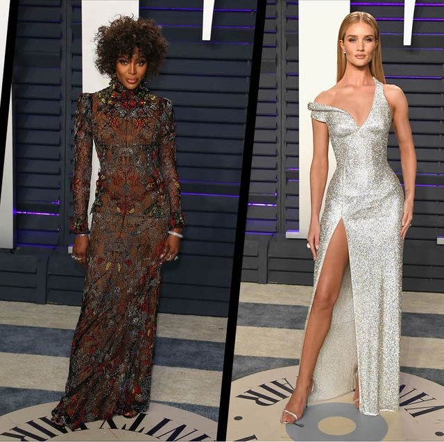 Oscars After Parties 2019 Red Carpet Fashion Best Dresses At Oscar Parties,Princess Ball Gown Wedding Dresses With Sweetheart Neckline And Bling