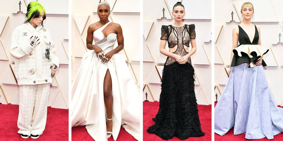 The Best Dressed Celebrities at the 2020 Oscars