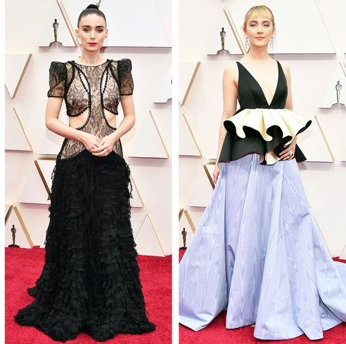 Clothing, Fashion model, Dress, Red carpet, Fashion, Carpet, Shoulder, Gown, Formal wear, Fashion design,