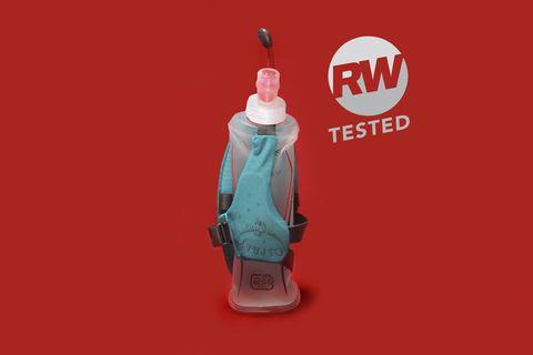 Product, Red, Turquoise, Illustration, Bottle, Plastic bottle, Logo, Graphics,
