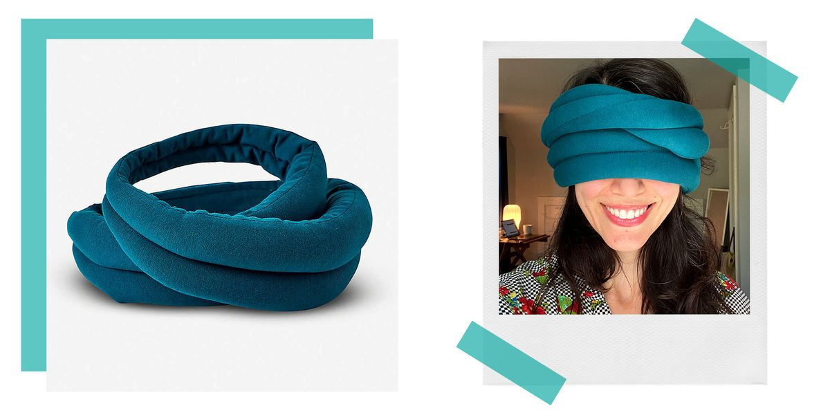 This Quirky Eye Mask Can Be Used for Travel, Sleep, or Meditation