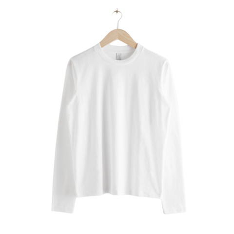 other stories long sleeve shirt