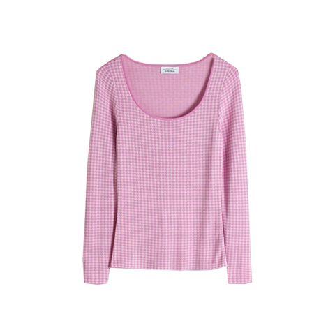 Piede de poule rose shirt & other stories