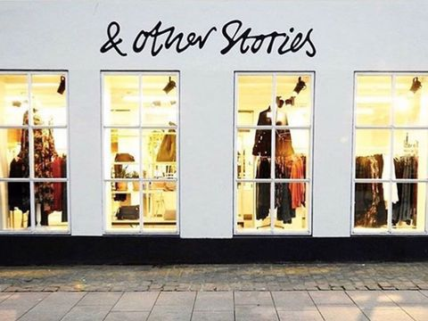 &Other Stories store shopping