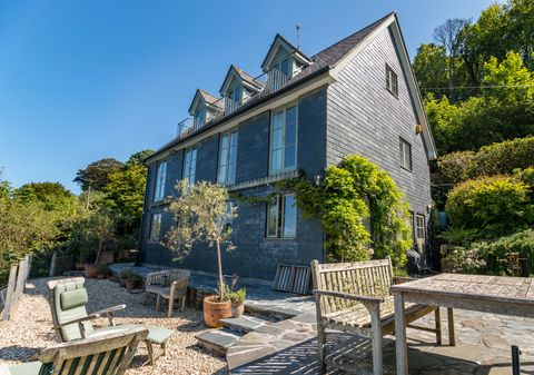 Astounding Idyllic Waterside Cornish Home With Private Quay For Sale Download Free Architecture Designs Salvmadebymaigaardcom