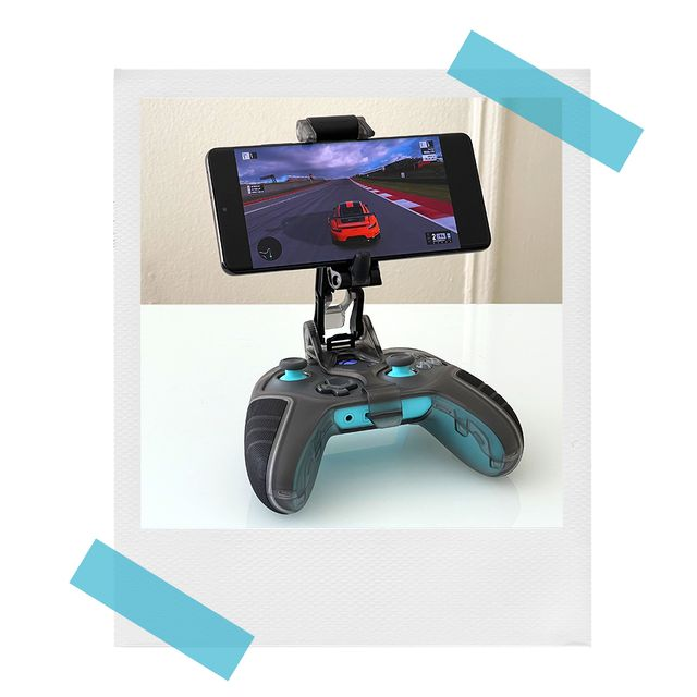 otterbox gaming clip with controller and iphone
