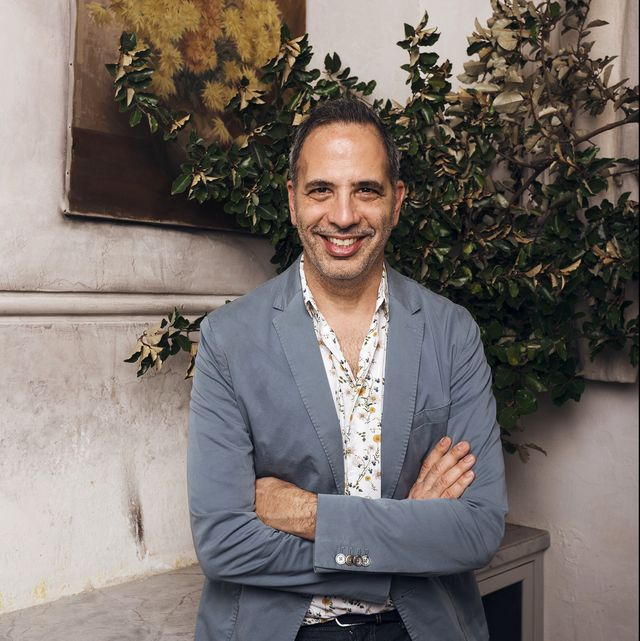 australia out israeli british chef, yotam ottolenghi, is at fred's restaurant in paddington, sydney, where he is the guest at a good food event for the sydney morning herald, january 29, 2019 photo by james brickwoodfairfax media via getty images via getty images
