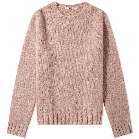 Clothing, Sleeve, Wool, Outerwear, Woolen, Pink, Sweater, Beige, Jersey, Neck,