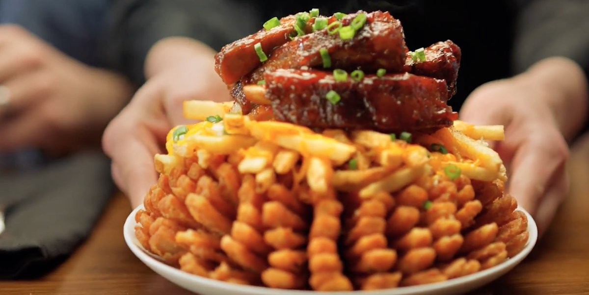 Updated Outbacks New Loaded Bloomin Onion Is Topped With Ribs
