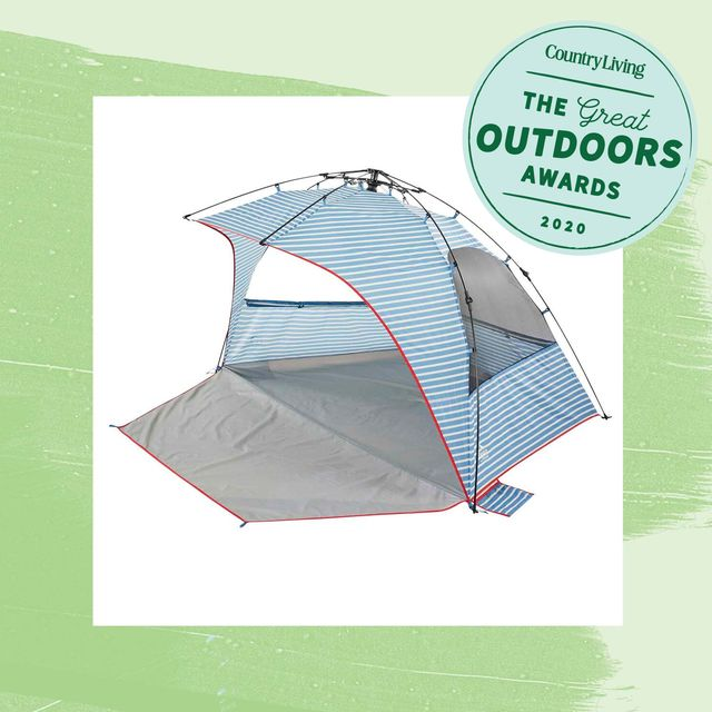 outdoor awards tent and bogg bag