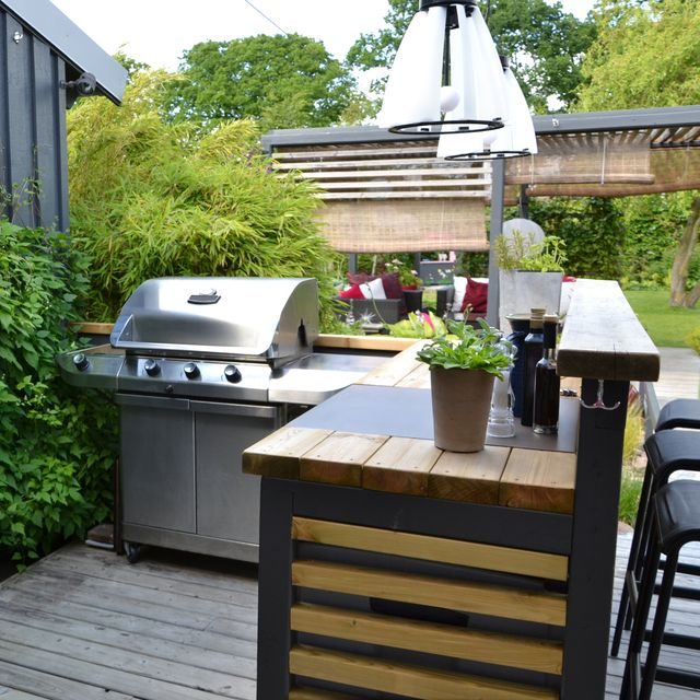 12 Best Outdoor Bar Ideas Diy Bars For Entertaining