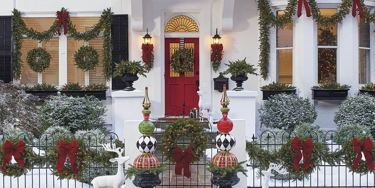 70 Picture-Perfect Outdoor Christmas Decoration Ideas