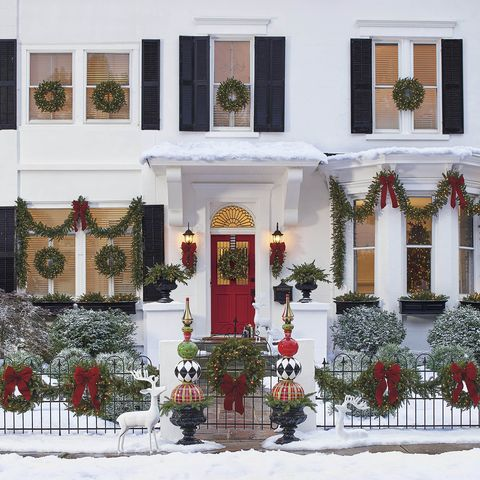 outdoor christmas decorations - Christmas Arch Decorations