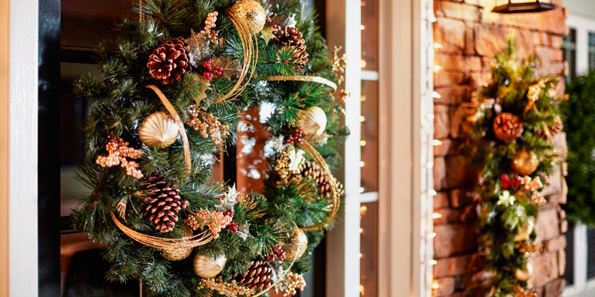 Marvelous Martha Stewart Living 30 Inch Unlit Golden Holiday Wreath