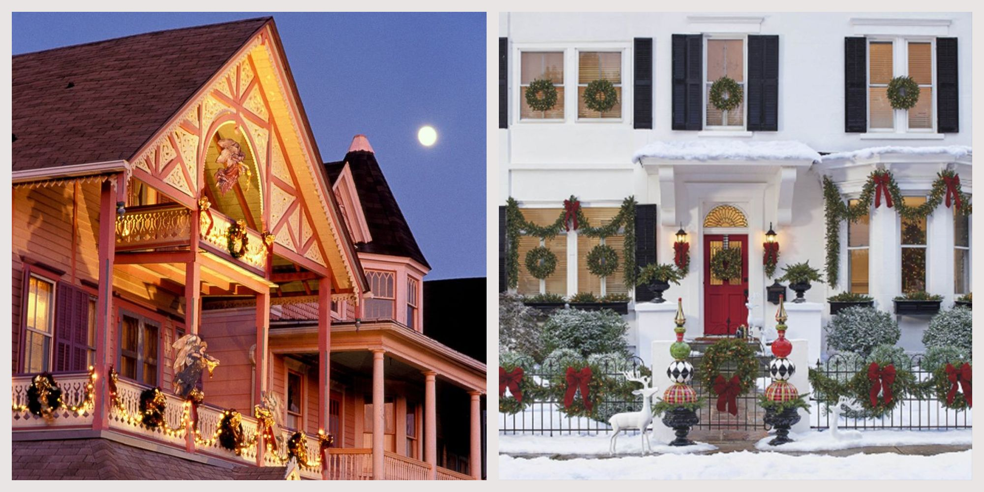 75 Outdoor Christmas Decorations From Understated to Extravagant