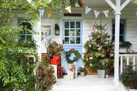 outdoor christmas decorations mini tree
