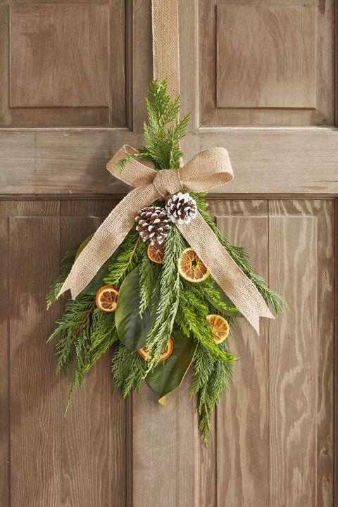 Outdoor Christmas Decorations Dried Citrus Wreath