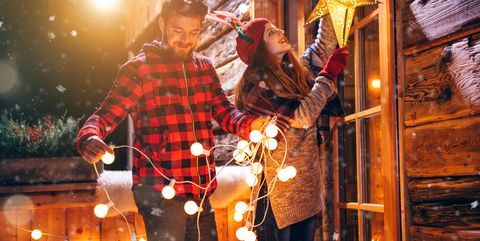outdoor christmas lights - Christmas House Decoration Ideas