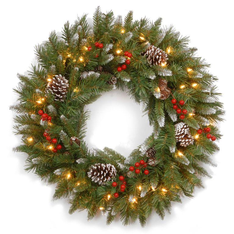 13 outdoor christmas decoration ideas stylish outside for Elle decor christmas tree