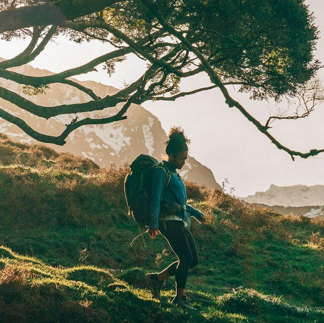 bakcountry countryside hiking