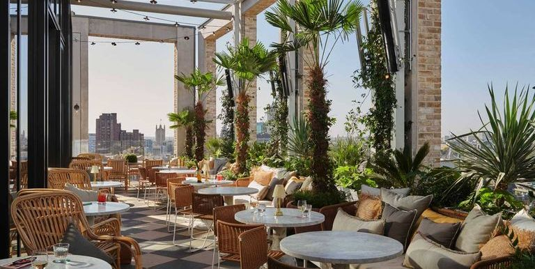 London's best outdoor terraces for when the sun is shining