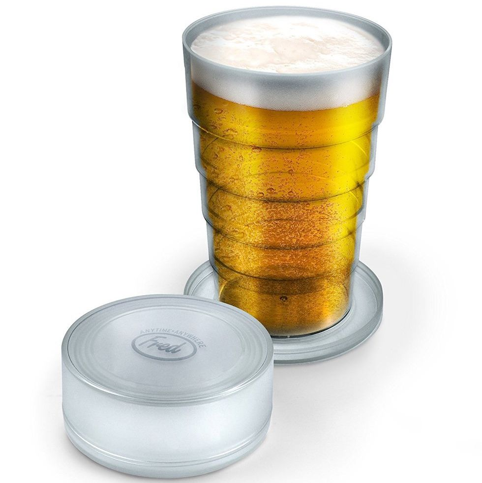 Amazon collapsible beer glass