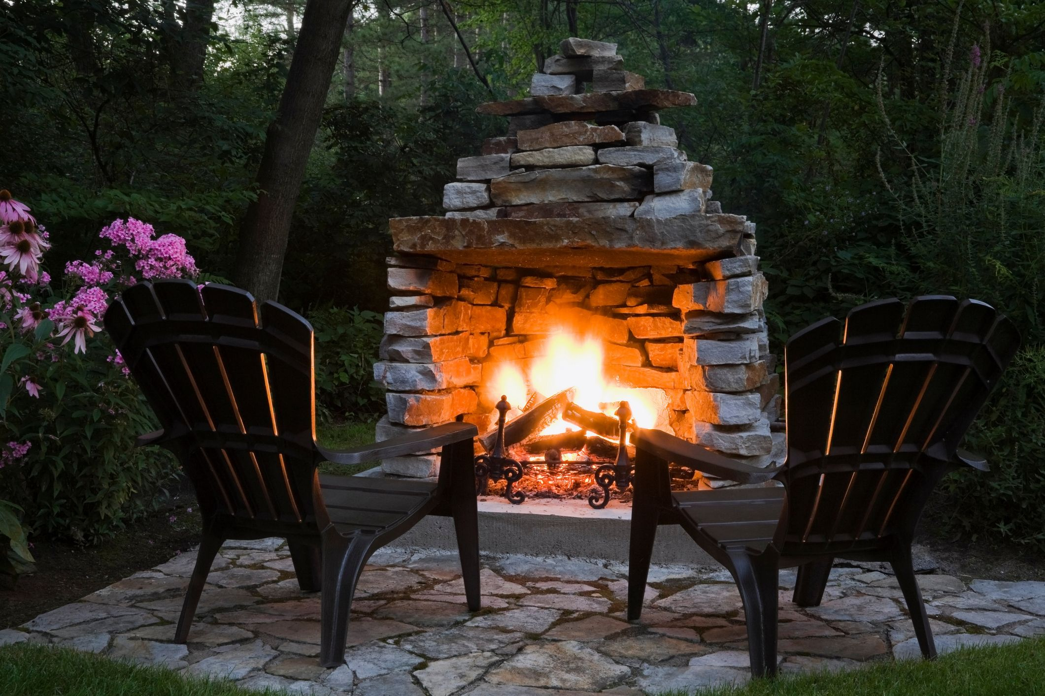 20 Diy Outdoor Fireplaces Fire Pit And Fireplace Ideas