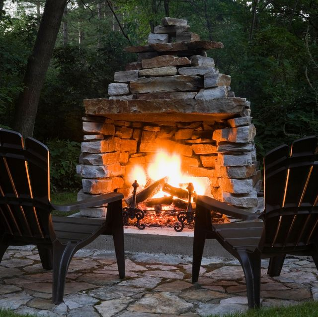 20 Diy Outdoor Fireplaces Fire Pit And Outdoor Fireplace Ideas