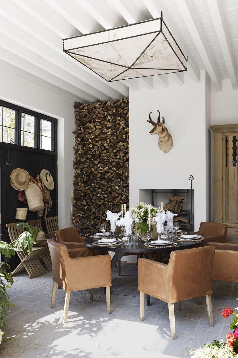 20 Stunning Outdoor Fireplace Design Ideas Gorgeous