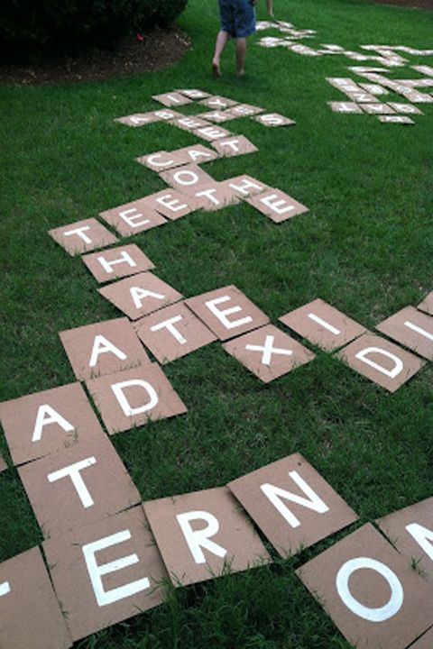 20 fun diy outdoor games for kids backyard party games for groups outdoor games bananagrams solutioingenieria Image collections