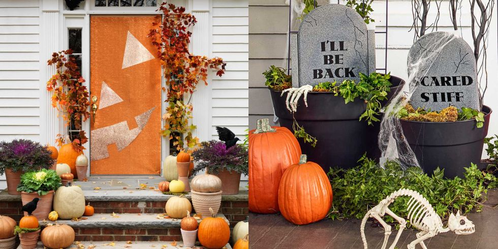 38 Scary Outdoor Halloween Decorations - Best Yard and Porch Halloween Decorating  Ideas - 38 Scary Outdoor Halloween Decorations - Best Yard And Porch
