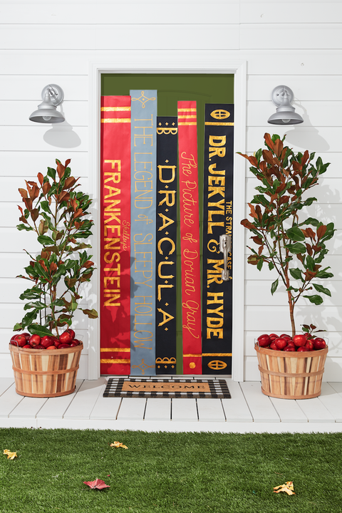 book jacket outdoor halloween decorations