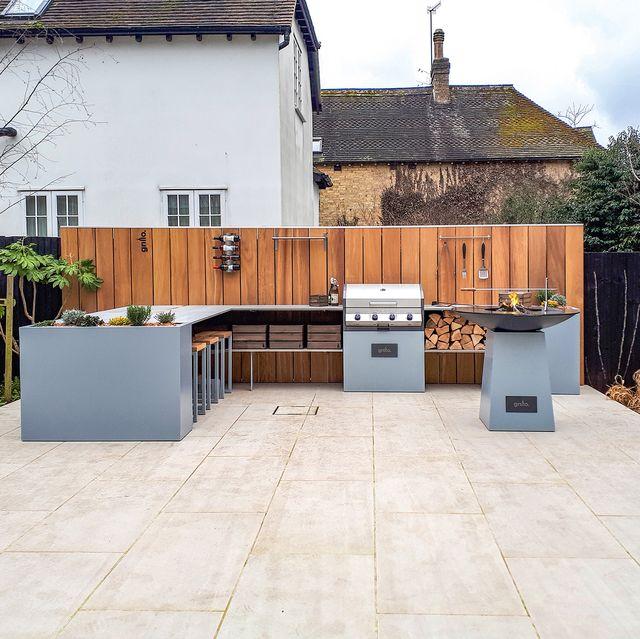 designing an outdoor kitchen   garden kitchen
