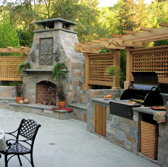 20 Best Outdoor Kitchen Ideas and Designs - Pictures of Beautiful ...